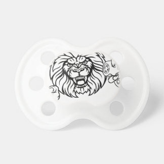 Lion Angry Esports Mascot Pacifier