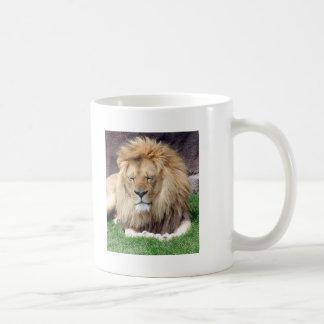 Lion Around Classic White Coffee Mug