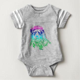 Lion Art Baby Bodysuit