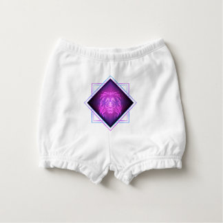 Lion art diaper cover