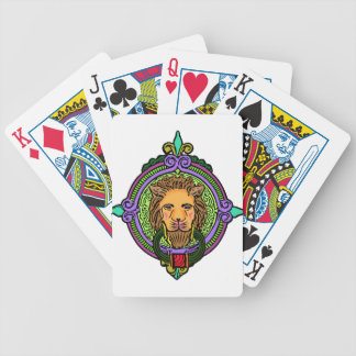 Lion Art exclusive Bicycle Playing Cards