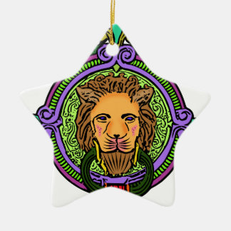 Lion Art exclusive Ceramic Ornament