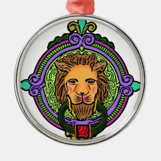 Lion Art exclusive Metal Ornament