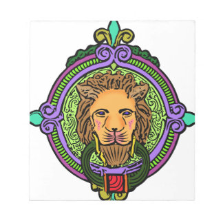 Lion Art exclusive Notepad