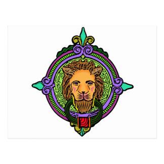 Lion Art exclusive Postcard