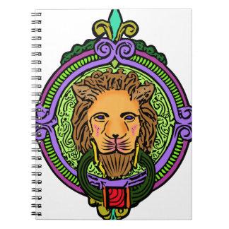 Lion Art exclusive Spiral Notebook