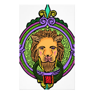 Lion Art exclusive Stationery