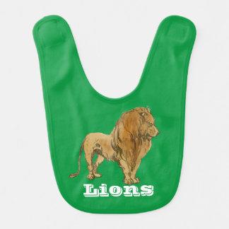 Lion Baby Bib