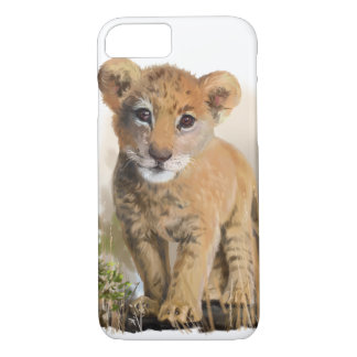 Lion baby Case-Mate iPhone case
