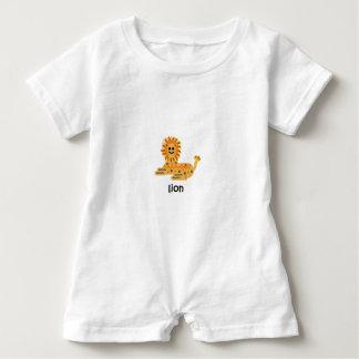 Lion Baby Romper