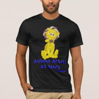 Lion Balloon Art Shirt - Balloon Artist at Work
