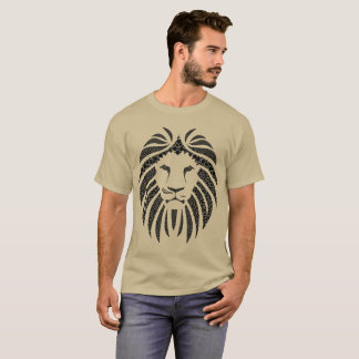 Lion Bubble Black T-Shirt