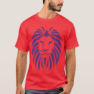 Lion Bubble Blue T-Shirt