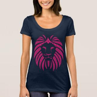 Lion Bubble Pink T-Shirt