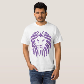 Lion Bubble Purple T-Shirt