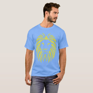 Lion Bubble Yellow T-Shirt