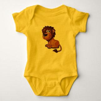 Lion Cartoon Baby Bodysuit