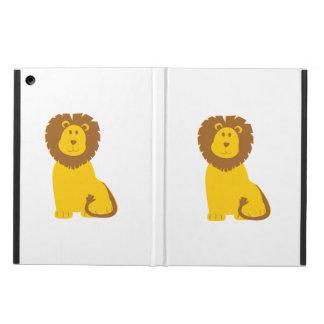 Lion cartoon iPad air case