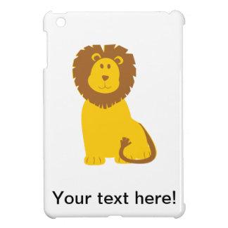 Lion cartoon iPad mini case