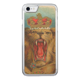 Lion Carved iPhone 8/7 Case