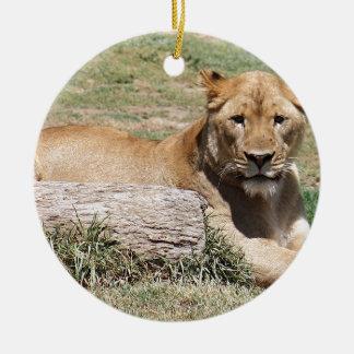 Lion Ceramic Ornament