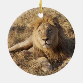 Lion Christmas tree ornament