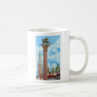 Lion Column, Piazza San Marco Coffee Mug