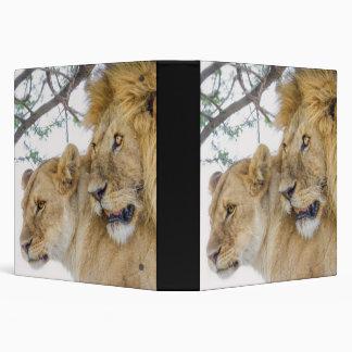 Lion Couple Binder