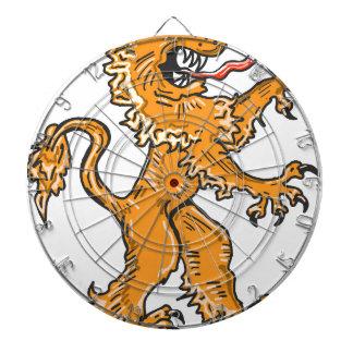Lion Creature Sketch Vector Dartboard