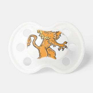 Lion Creature Sketch Vector Pacifier