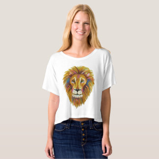 Lion Crop Top Two