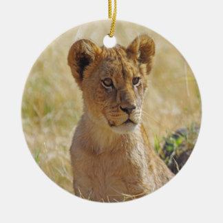 Lion Cub Christmas Ornament