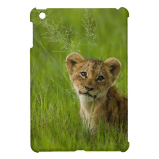 Lion Cub In The Tall Grass Cover For The iPad Mini