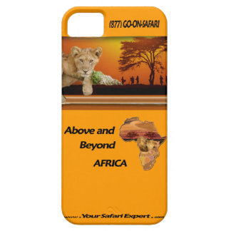 Lion Cub & Tribe under Tree & Africa Collage iPhone 5 Case