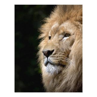 lion custom letterhead