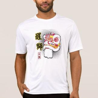 Lion Dance Fut San performance t-shirt
