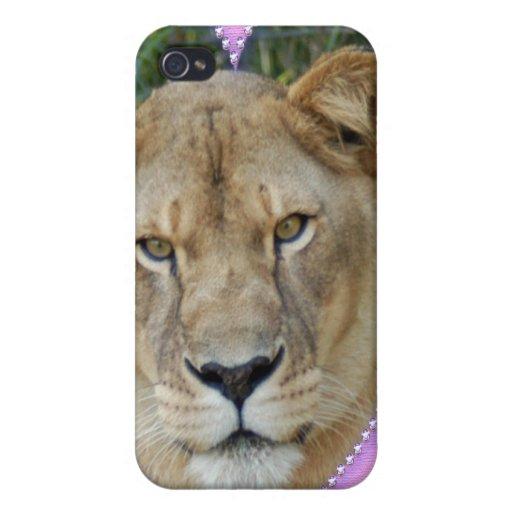 Lion de Barbarie Coque iPhone 4 Et 4S