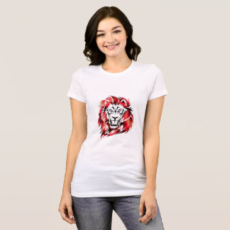 Lion Designed Women's T-shirt