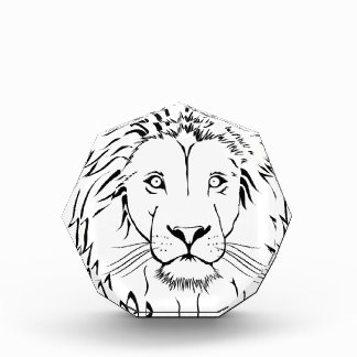 lion drawing vector design