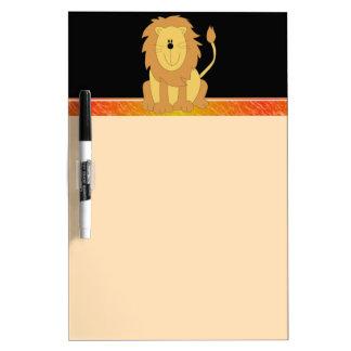 Lion Dry Erase Board