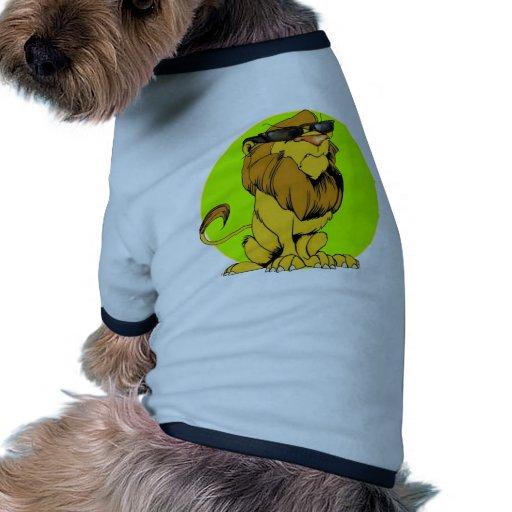 Lion excentrique supplémentaire t-shirts pour animaux domestiques