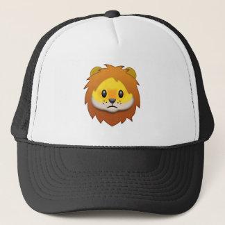Lion Face Emoji Trucker Hat