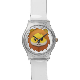 Lion Face Emoji Watch