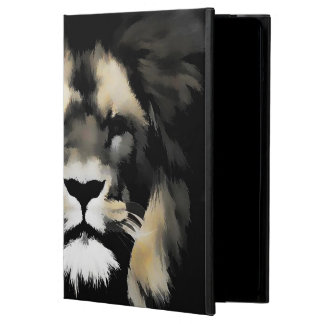 Lion Face Wildlife iPad Air Case