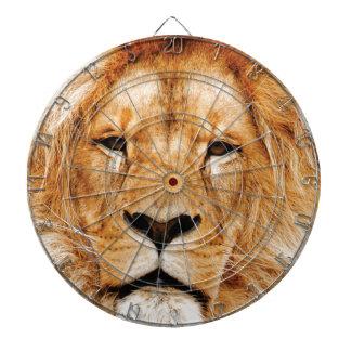 lion face yeah dartboard