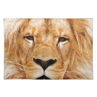 lion face yeah placemat