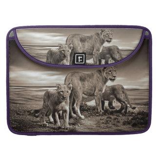 Lion Family Sleeves For MacBooks