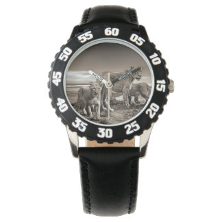 Lion Family Wristwatches
