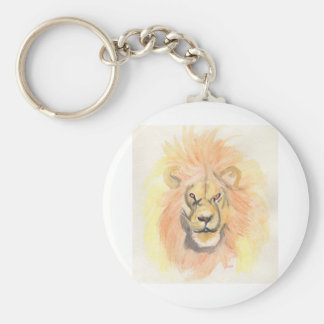 Lion   First Star Art by jrr Key Chains
