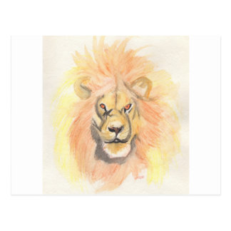 Lion   First Star Art by jrr Postcard